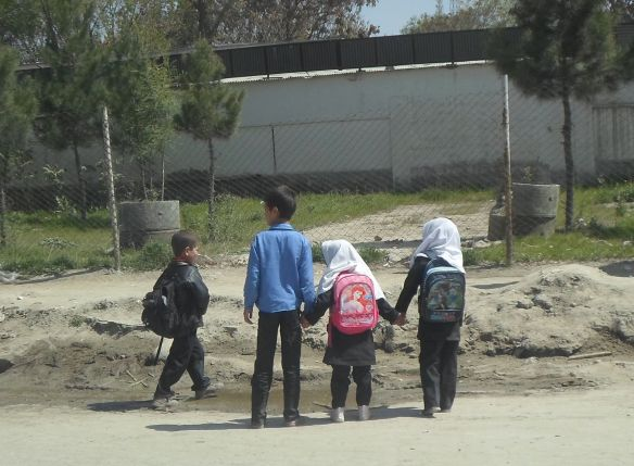 Children in Kabul