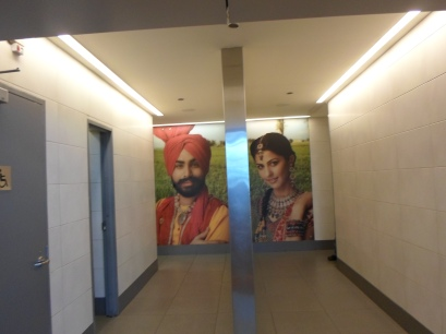 New Dehli airport toilet signs 1