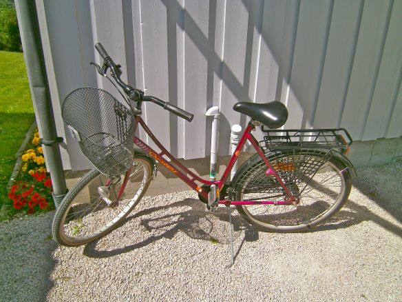 A typical bike for women
